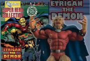 Eaglemoss DC Comics Super Hero Figurine Collection Etrigan The Demon Special